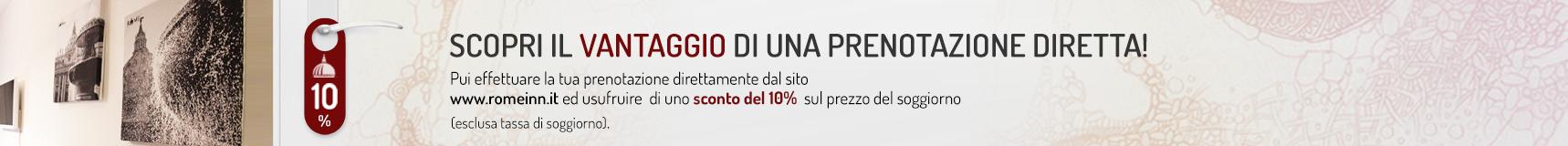sconto-pernottamento-10-percento-alla-prenotazioene-romeinn-alloggi-roma